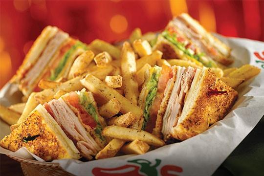 Cajun Club Sandwich